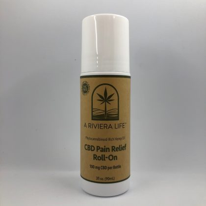 CBD PAIN RELIEF ROLL-ON GEL with Cold Therapy
